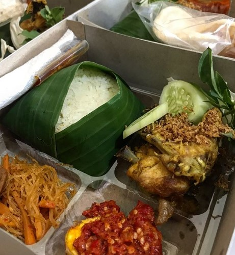 Catering nasi box murah dan enak di Pulogadung Trade Center