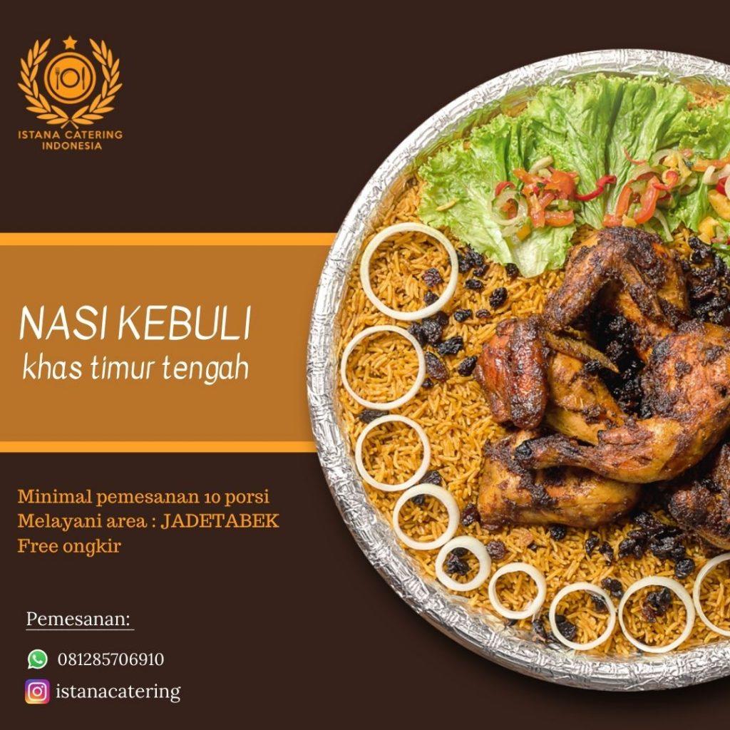 Order Nasi kebuli delivery recomended di Bekasi