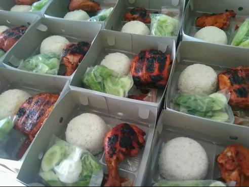 Nasi Kotak Ayam Bakar di Bekasi
