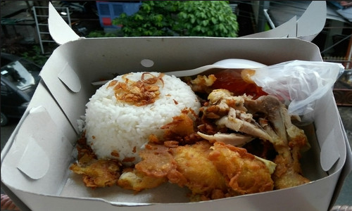 Nasi Kotak Ayam Geprek