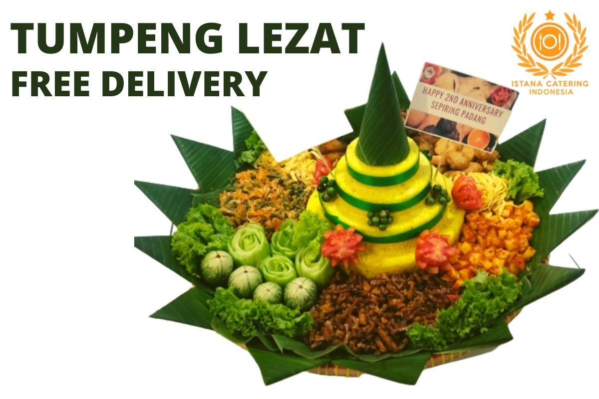 Catering tumpeng nasi kuning di Sukabumi Utara, Kebon Jeruk